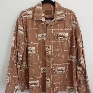 Magellan button up fishing shirt